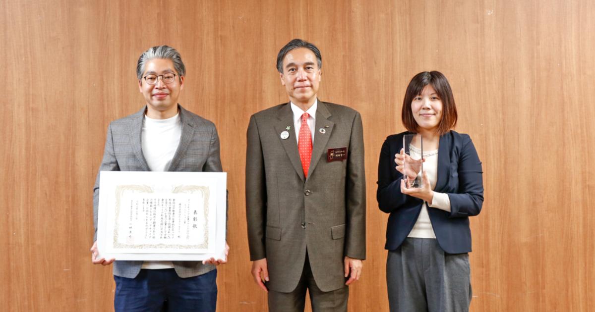 阿部守一長野県知事を表敬訪問しました